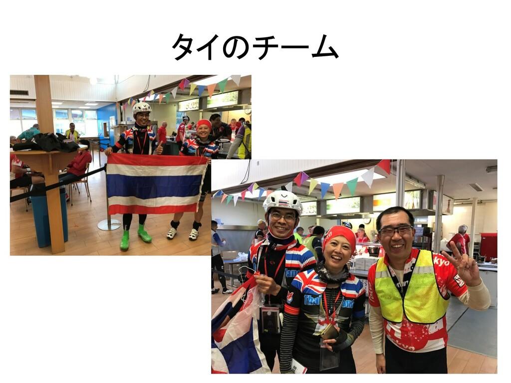 タイのチーム