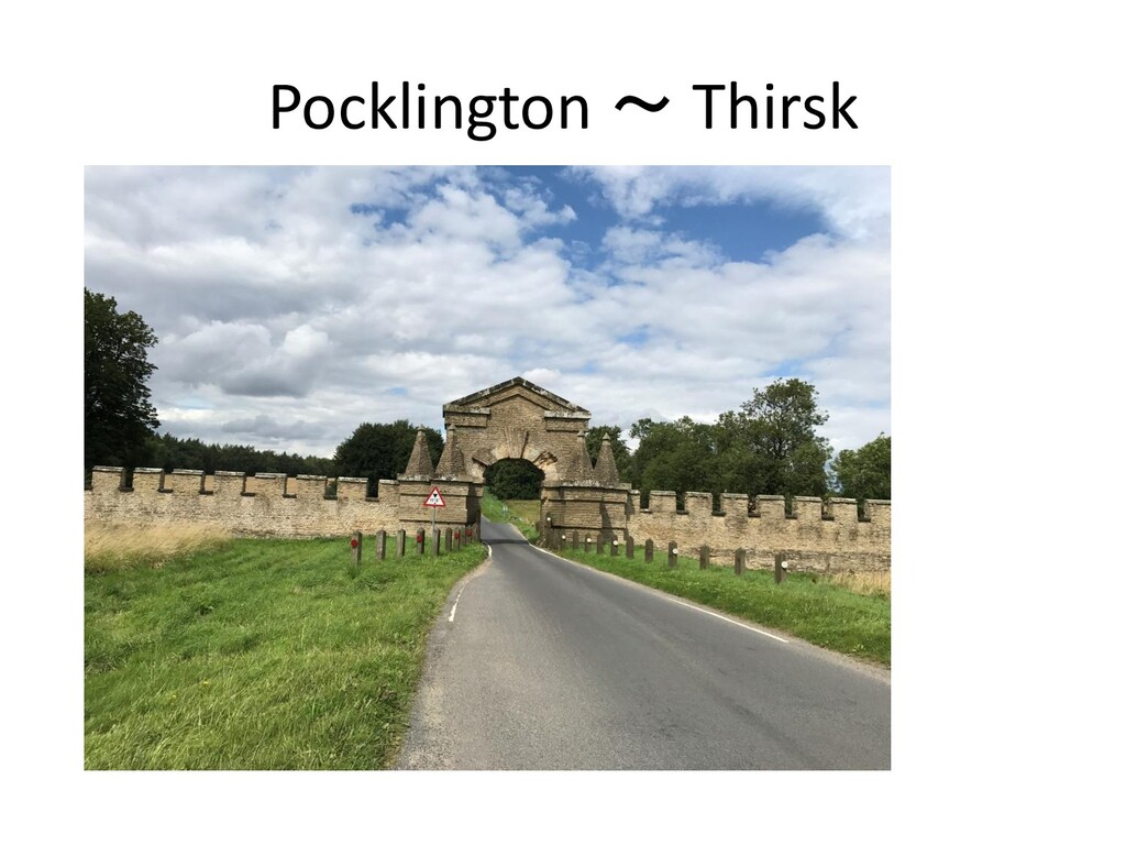 Pocklington ~ Thirsk