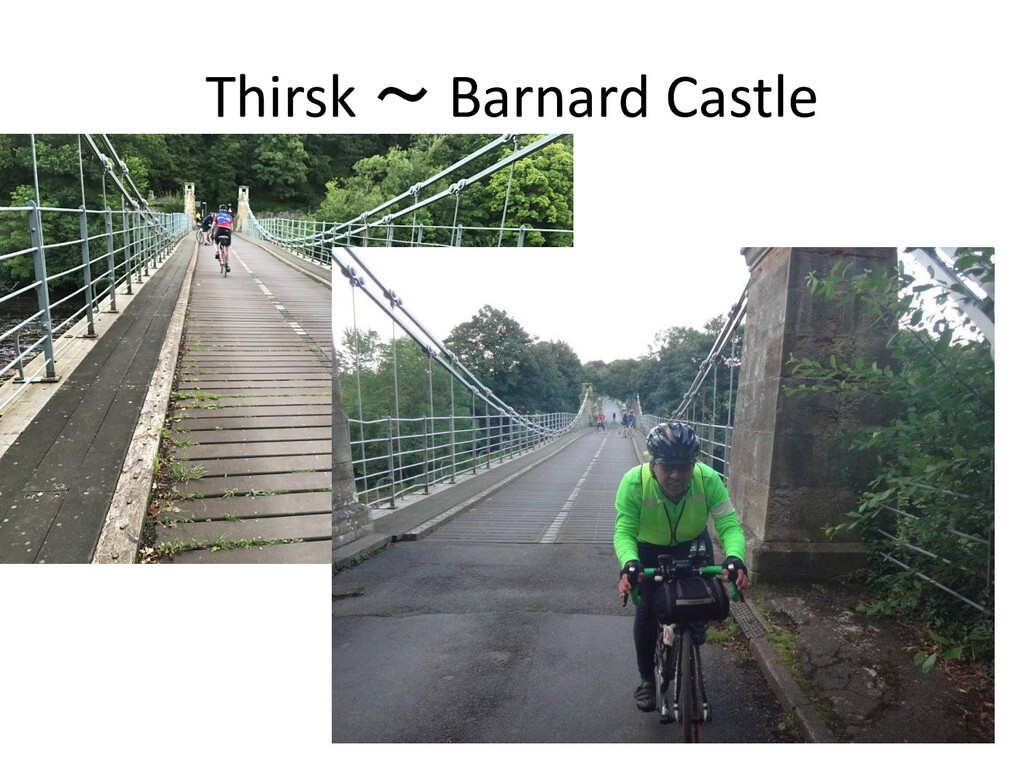 Thirsk ~ Barnard Castle