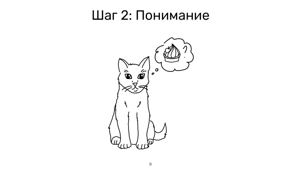 9 Шаг 2: Понимание