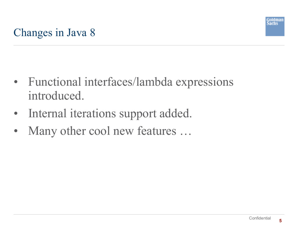 Confidential • Functional interfaces/lambda exp...