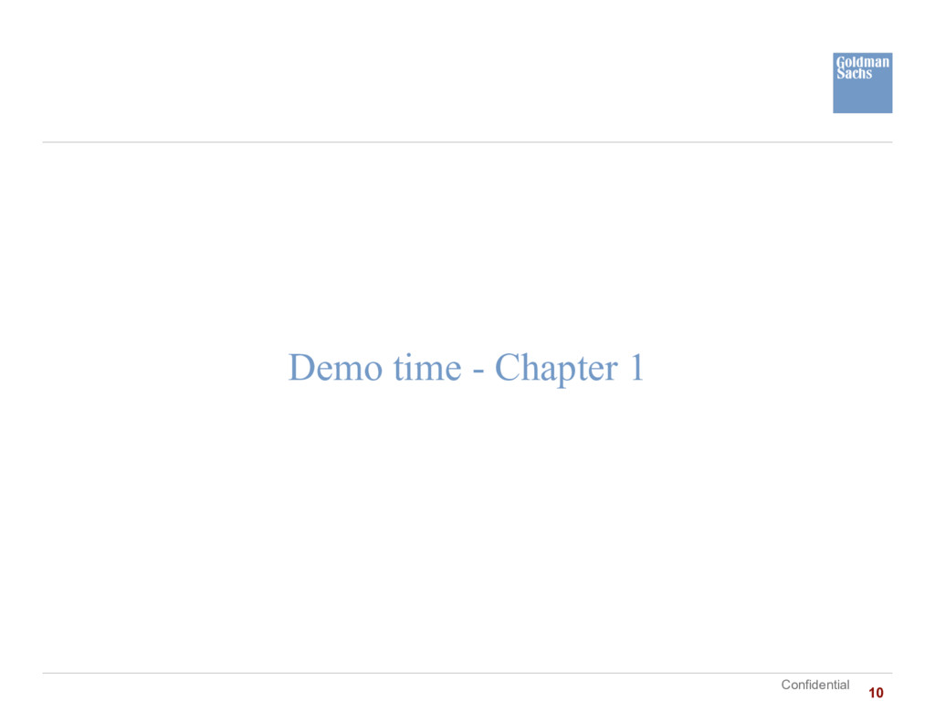 Confidential Demo time - Chapter 1 10