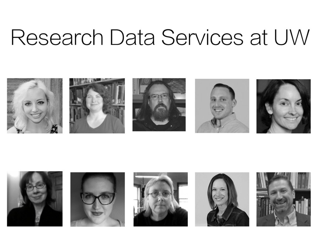Research Data Services at UW