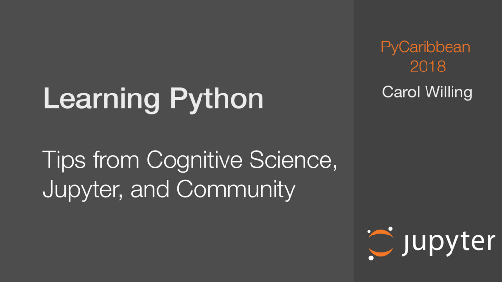 Learning Python Tips from Cognitive Science, ...