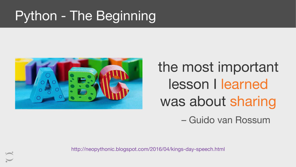 Python - The Beginning the most important lesso...