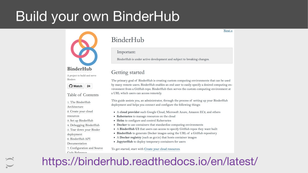 Build your own BinderHub https://binderhub.read...
