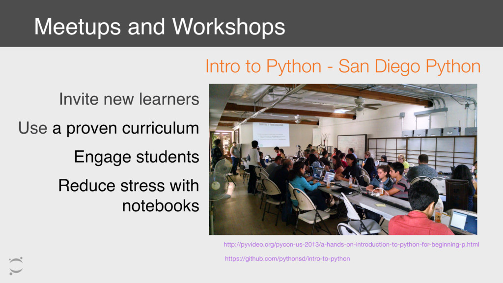 Invite new learners Use a proven curriculum Eng...