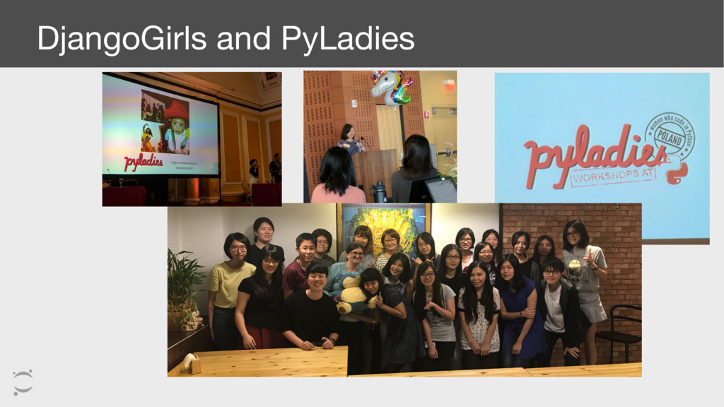 DjangoGirls and PyLadies