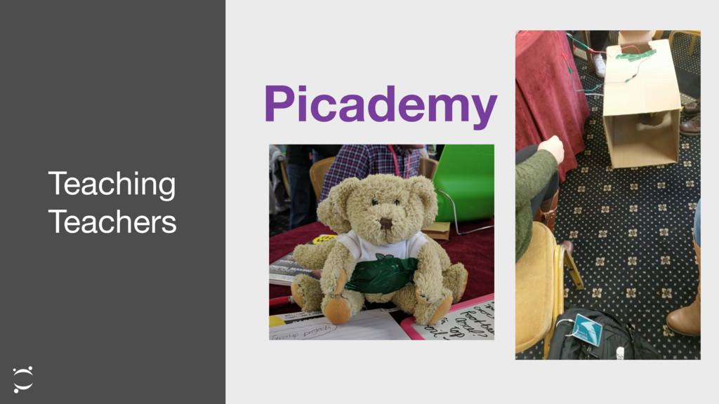 Teaching  Teachers Picademy