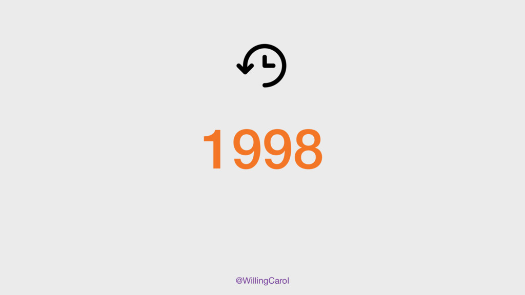 @WillingCarol 1998