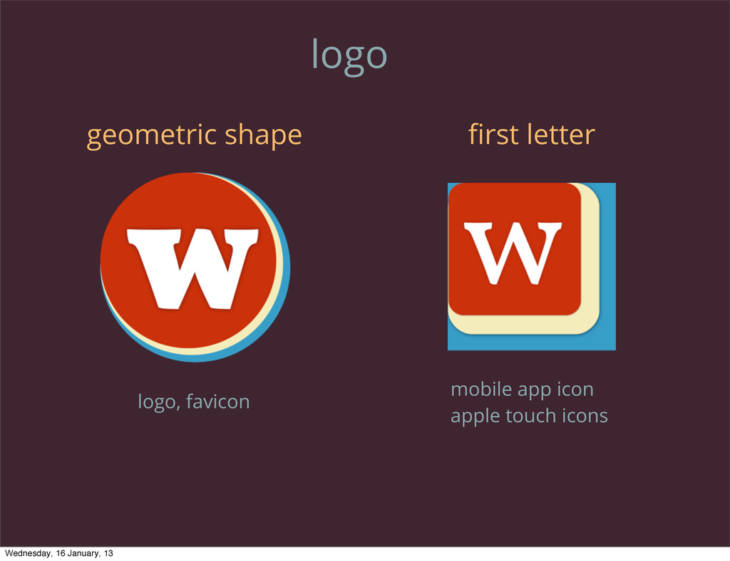 logo geometric shape first letter mobile app ico...