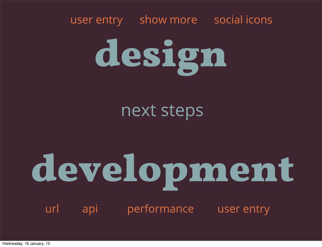 next steps show more api user entry user entry ...