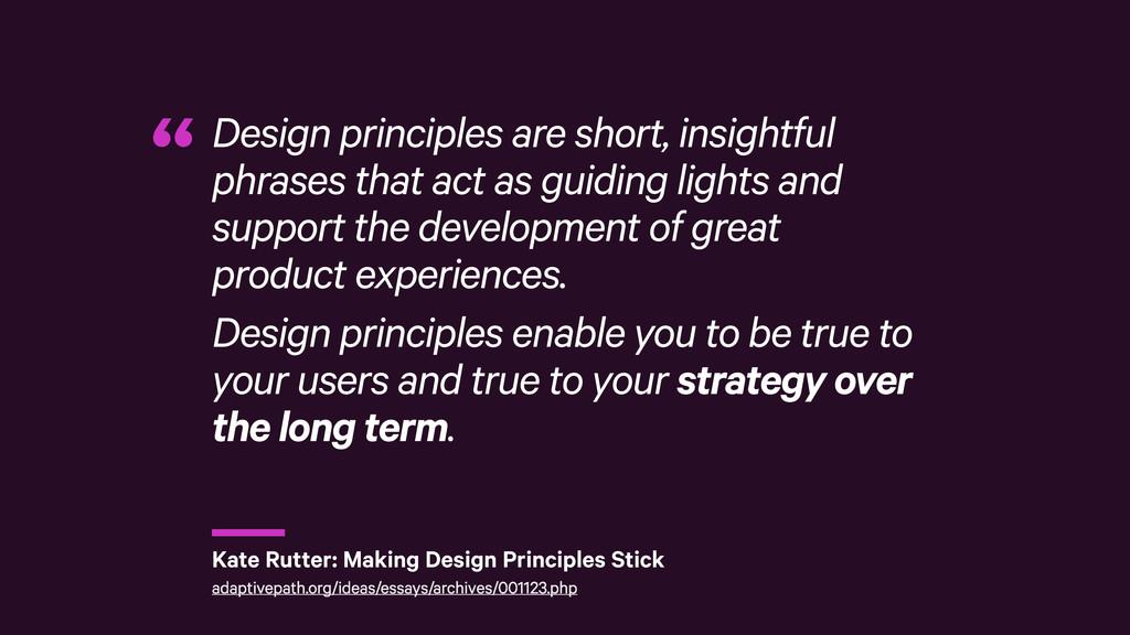 r Design principles are short, insightful phras...