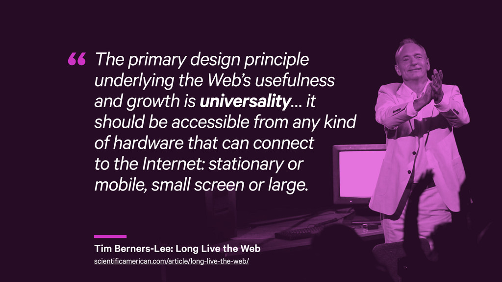 r The primary design principle underlying the W...