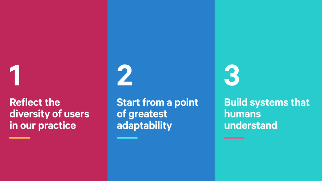 3 Build systems that humans understand 2 Start ...