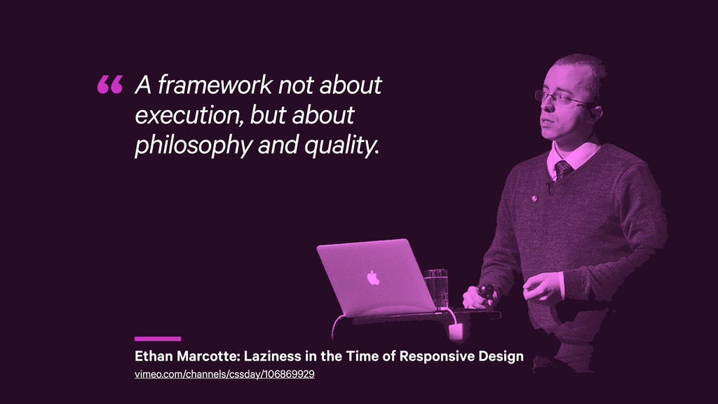 r A framework not about execution, but about ...