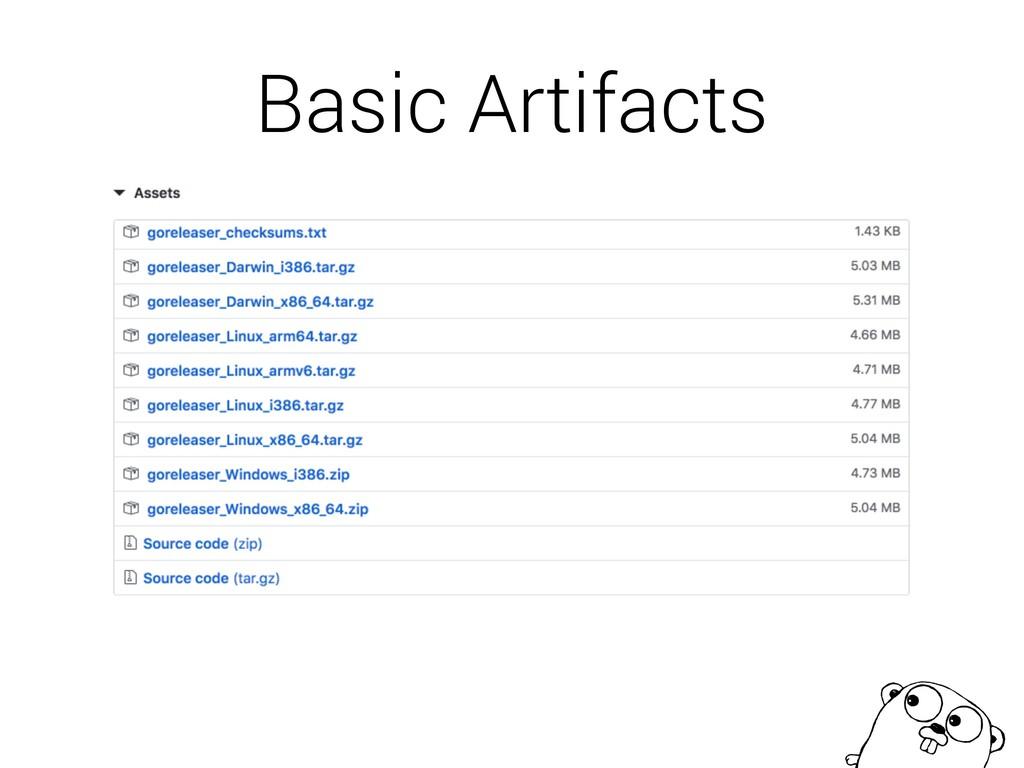 Basic Artifacts