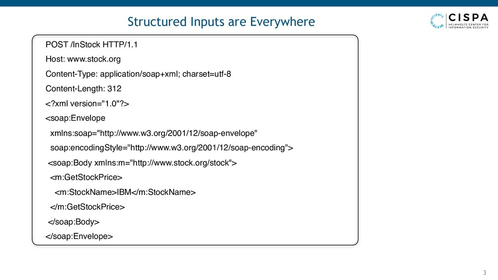 Structured Inputs are Everywhere 3 POST /InStoc...