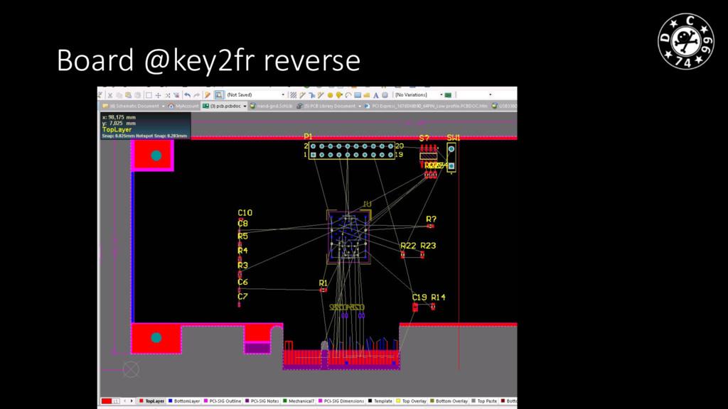 Board @key2fr reverse