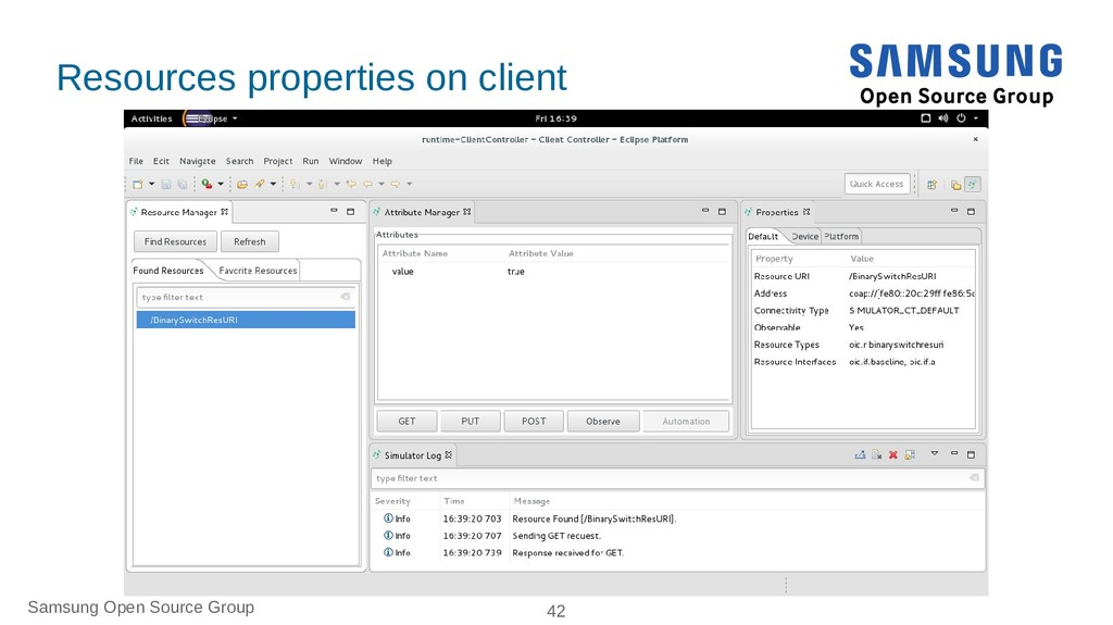 Samsung Open Source Group 42 Resources properti...