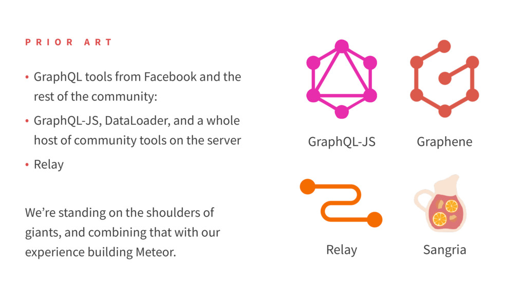 • GraphQL tools from Facebook and the rest of t...