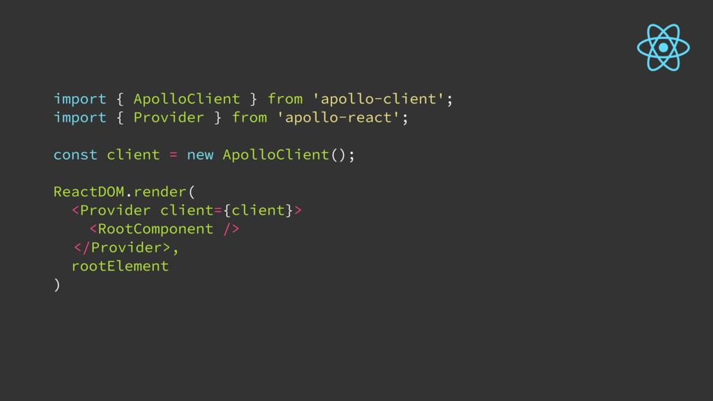 import { ApolloClient } from 'apollo-client'; i...