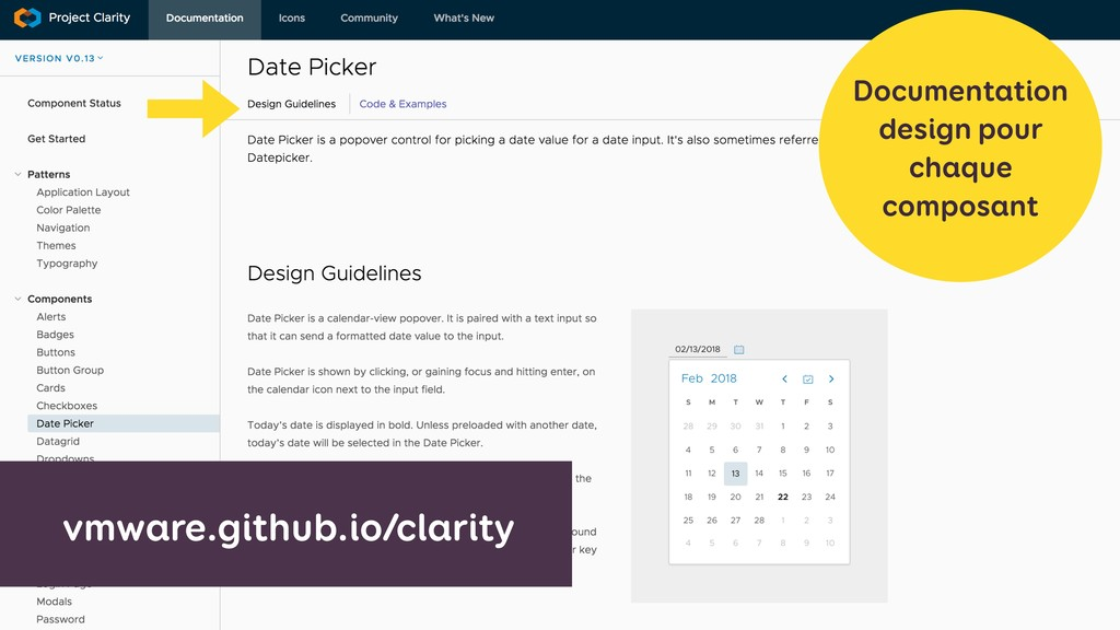 vmware.github.io/clarity Documentation design p...
