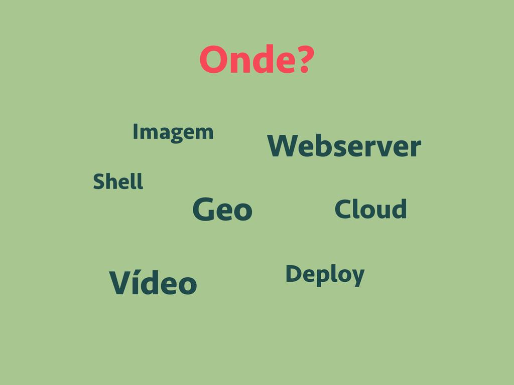 Onde? Deploy Shell Cloud Geo Webserver Vídeo Im...