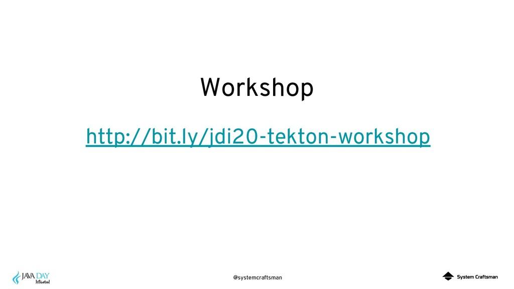 @systemcraftsman Workshop http://bit.ly/jdi20-t...