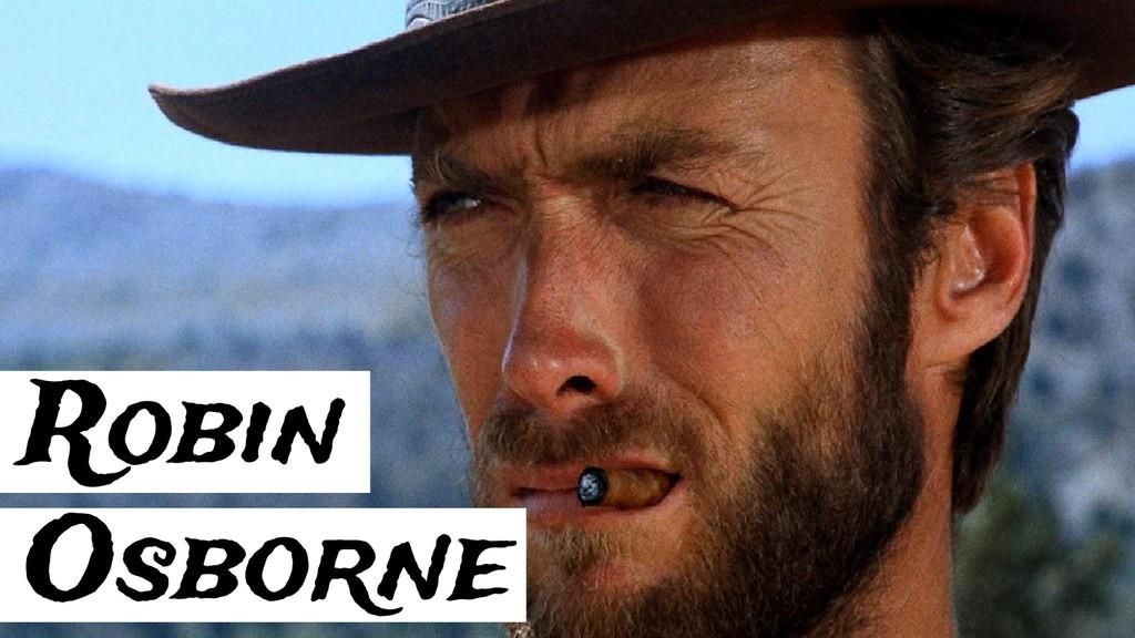 Robin Osborne