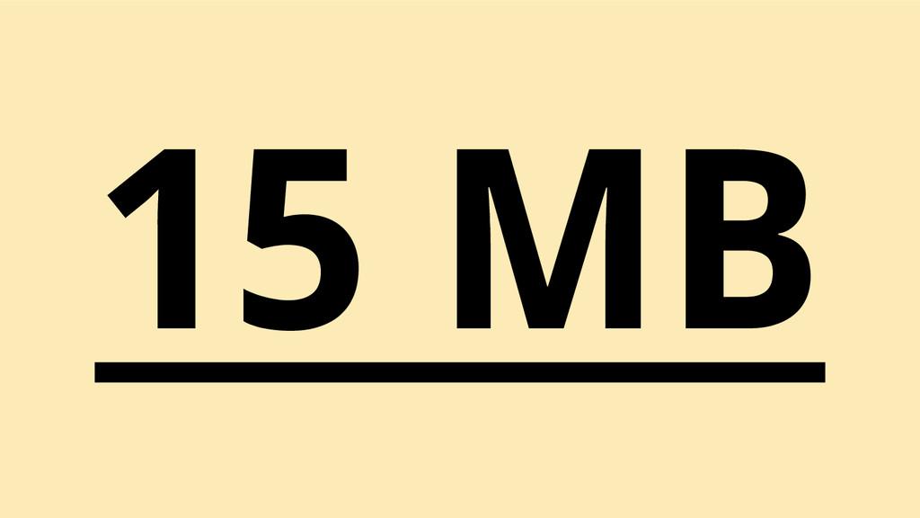15 MB