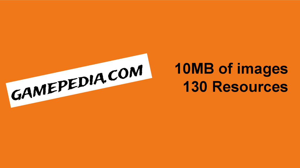 10MB of images 130 Resources gamepedia.com