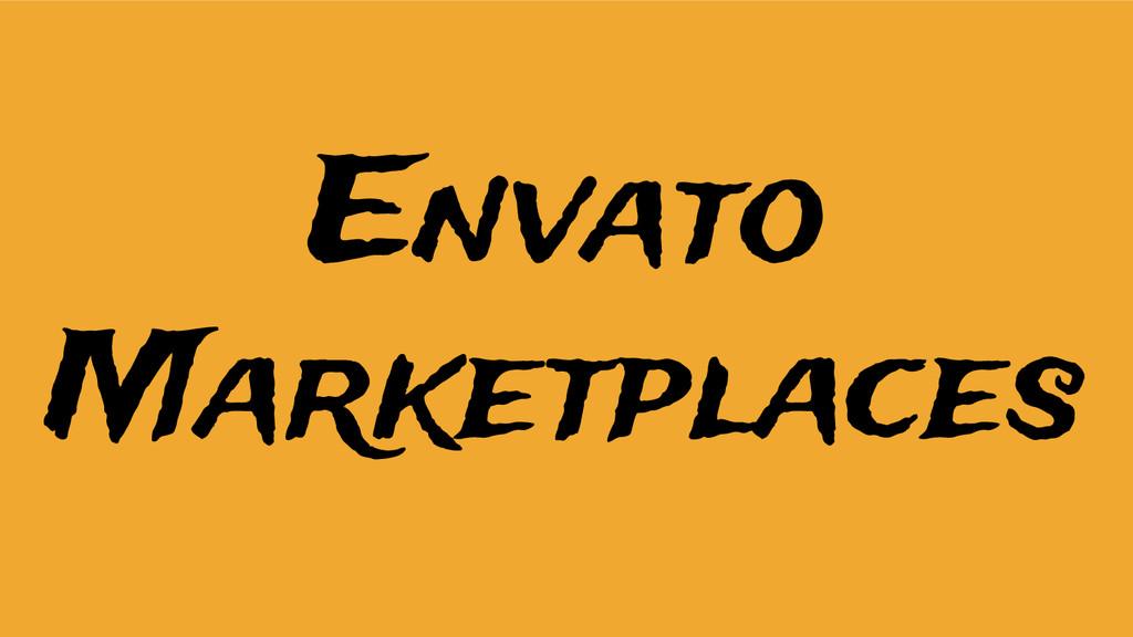 Envato Marketplaces