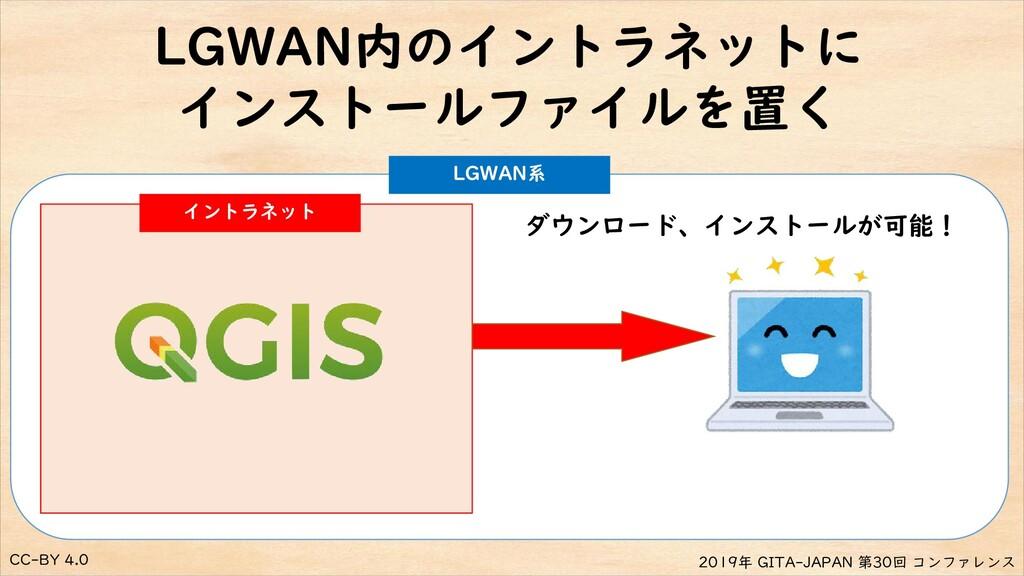CC-BY 4.0 2019年 GITA-JAPAN 第30回 コンファレンス LGWAN内の...