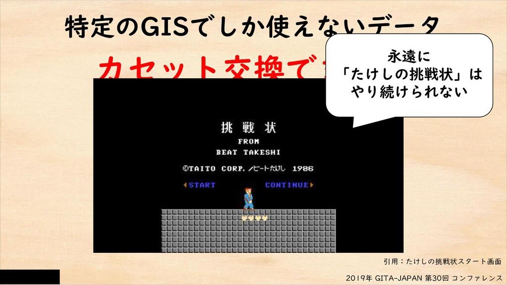 CC-BY 4.0 2019年 GITA-JAPAN 第30回 コンファレンス カセット交換で...