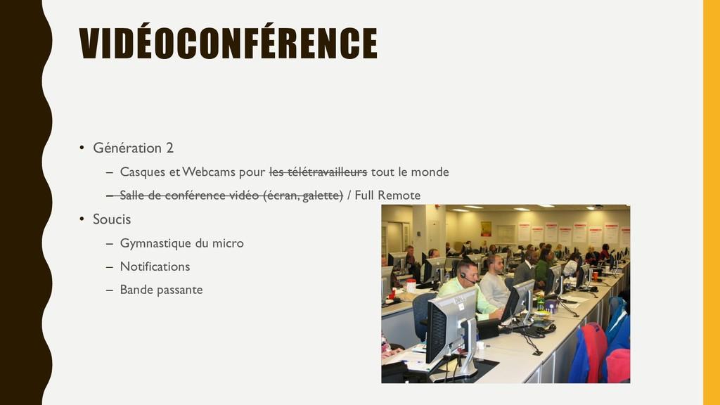 VIDÉOCONFÉRENCE • Génération 2 – Casques et Web...
