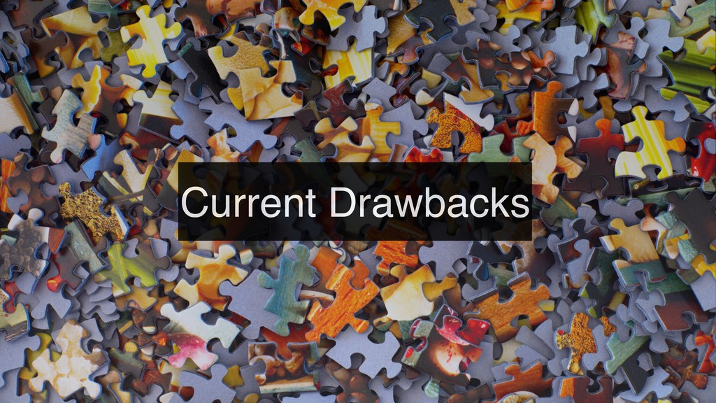 Current Drawbacks