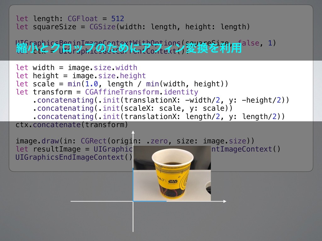 let length: CGFloat = 512 let squareSize = CGSi...