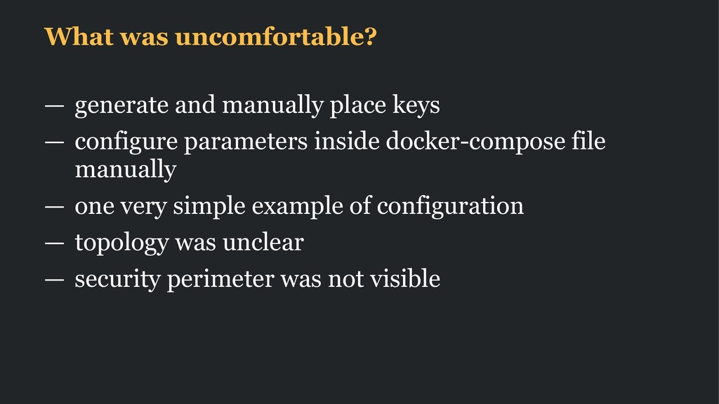 What was uncomfortable? — generate and manually...