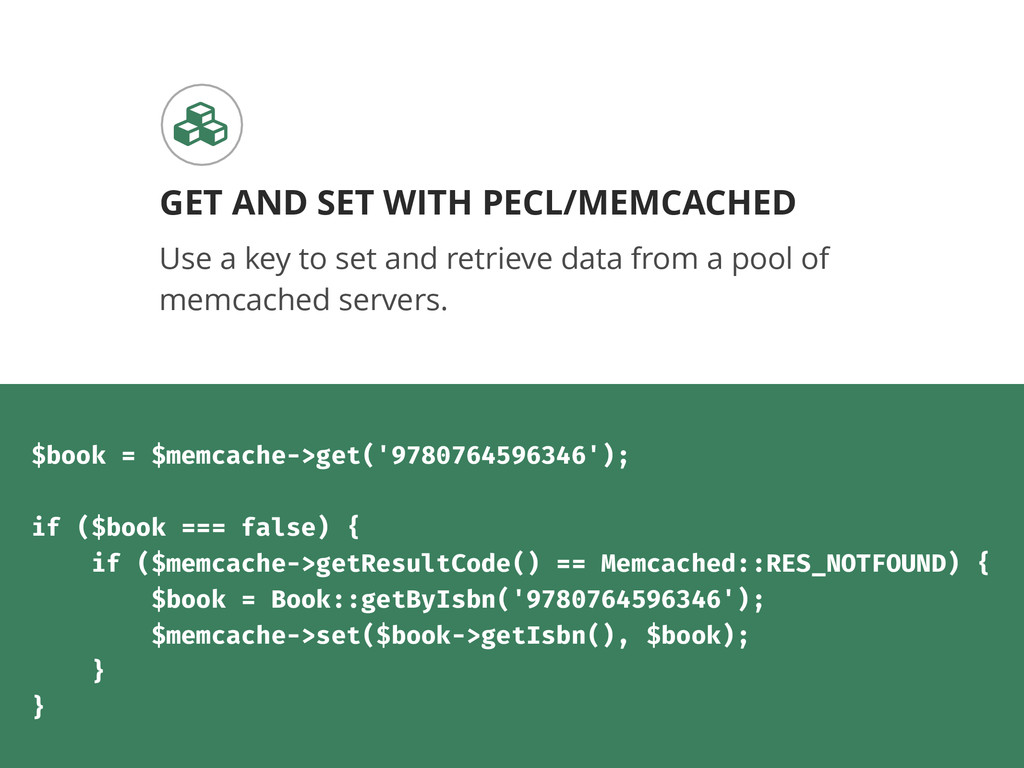Use a key to set and retrieve data from a pool ...