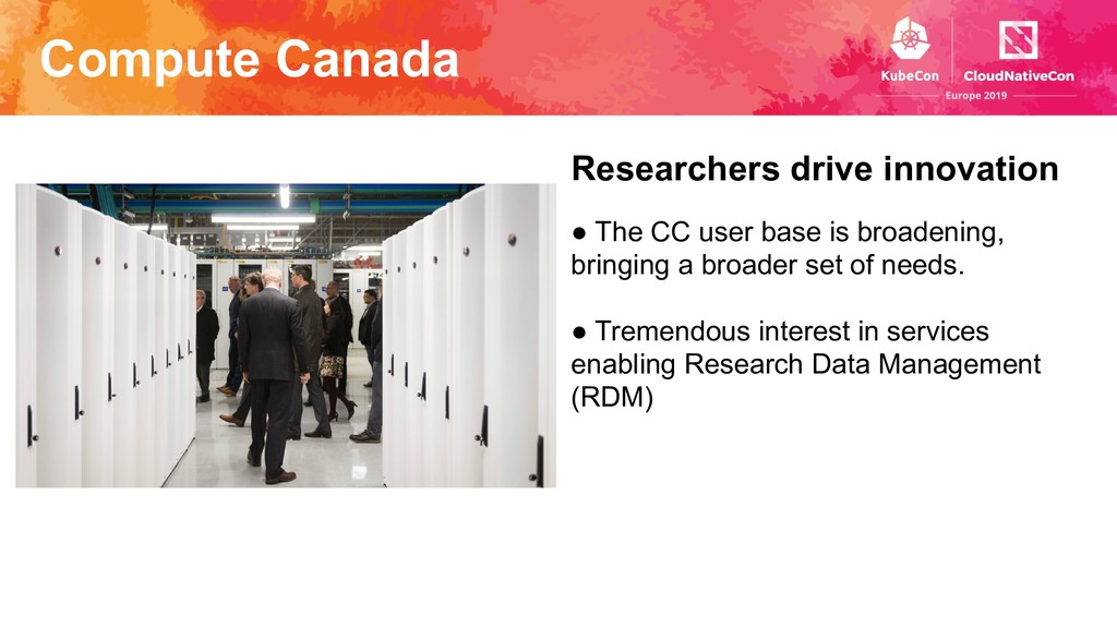 Compute Canada Researchers drive innovation ● T...