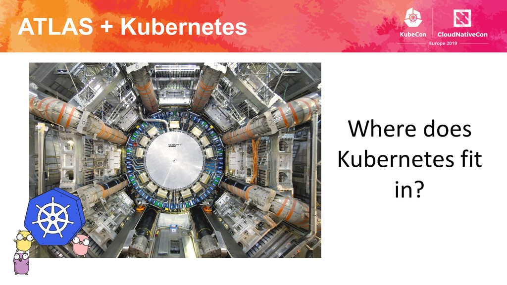ATLAS + Kubernetes Where does Kubernetes fit in?