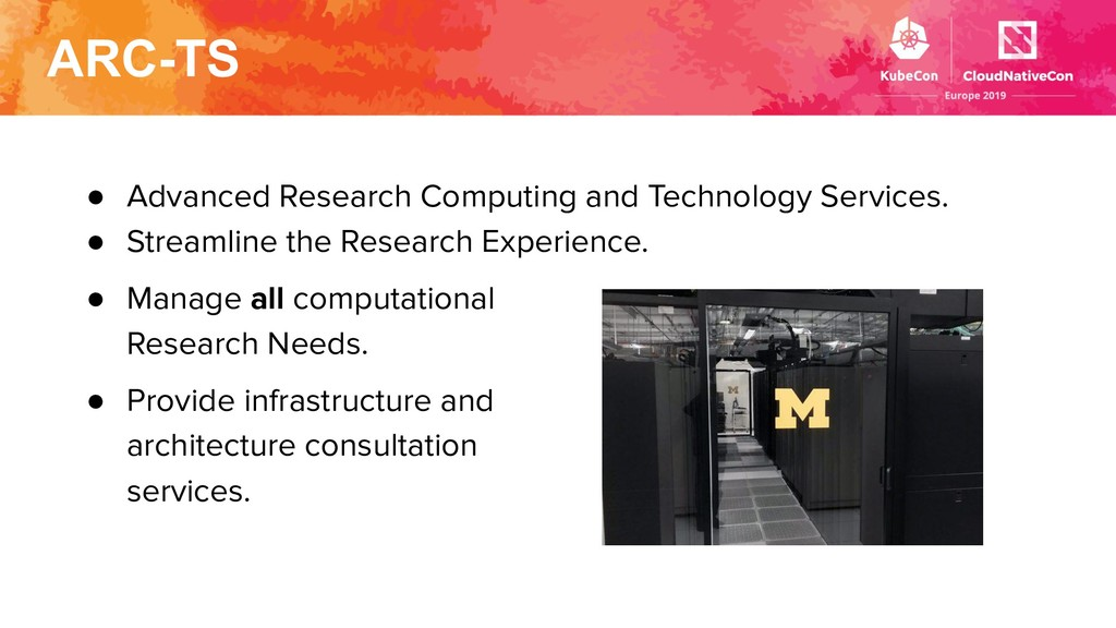 ARC-TS ● Advanced Research Computing and Techno...