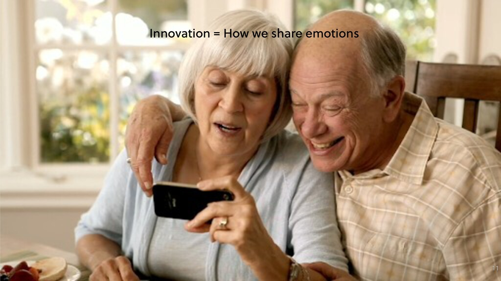 11 Innovation = How we share emotions