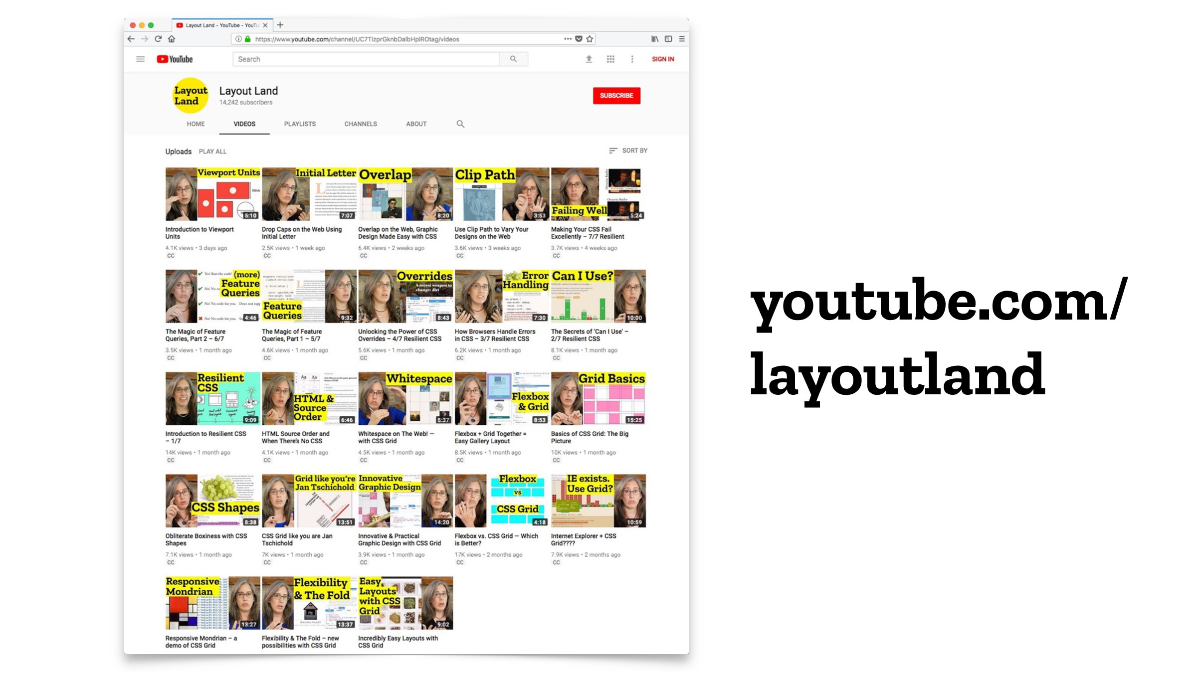 youtube.com/ layoutland