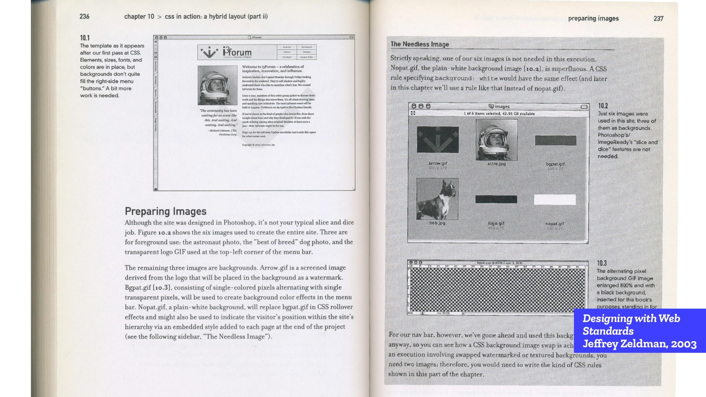Designing with Web Standards Jeffrey Zeldman, 2...