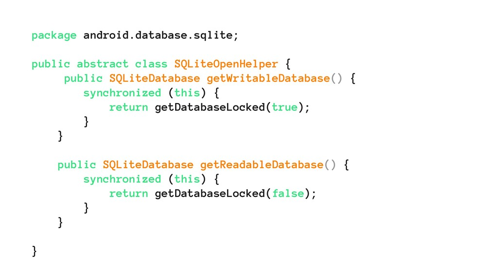 package android.database.sqlite; public abstrac...