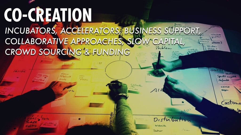 CO-CREATION INCUBATORS, ACCELERATORS, BUSINESS ...