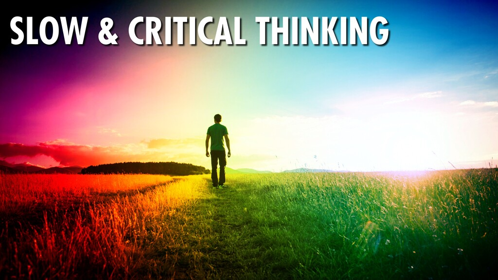 355 SLOW & CRITICAL THINKING