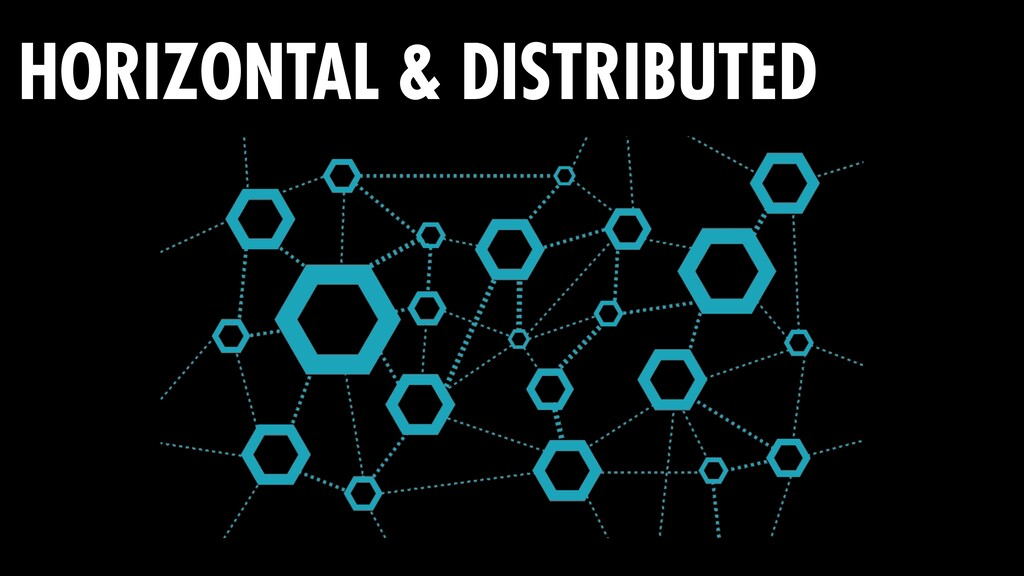 HORIZONTAL & DISTRIBUTED